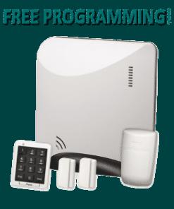 Alula Helix REHXK-210A Wireless Home Security Kit