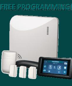 Alula Helix REHXK-311C Wireless Home Security Kit - Black