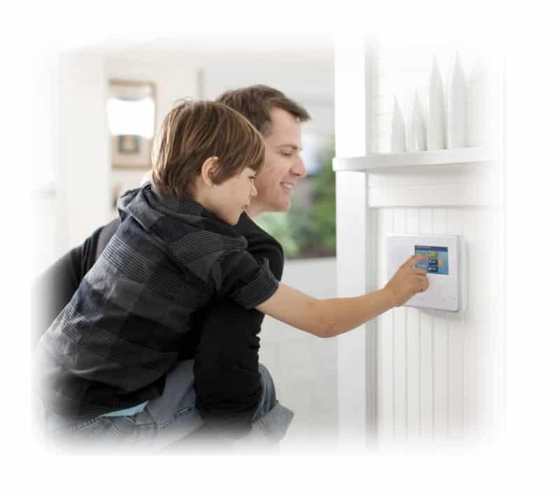 DIY Wireless Home Security Systems Honeywell DSC 2GIG Qolsys Alula