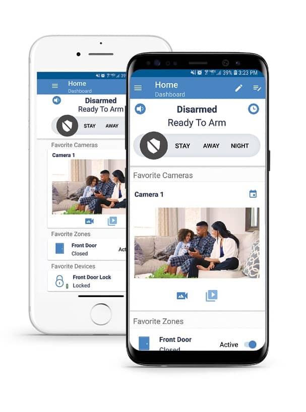 Alula Interactive Services Mobile Application